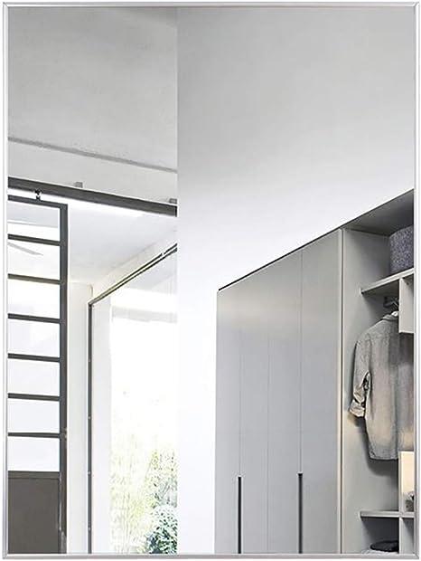 M-YN Espejo Pared de baño, Nórdico de Pared Espejo de baño, aleación de Aluminio Espejo con Marco, Maquillaje Espejo Espejo de baño 丨 丨 Afeitar Espejo de la Manera Baño Decoración, Impermeable: