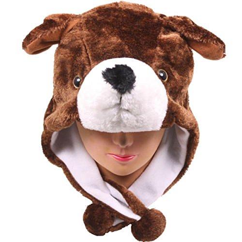 Dog_( (Burgundy Santa Hat)
