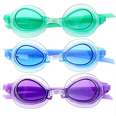 Rhode Island Novelty Bestway Swimming Goggles High Style 3 Per Order: Beauty
