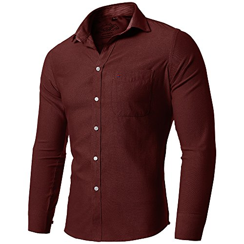 fly front dress shirt - 5