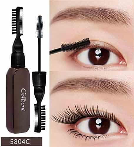 8c4a044a9b2 Sodoop 3D Black Fiber Lash Mascara Double Head Grafted Grow Waterproof  Mascara For Eyelash Extension Black