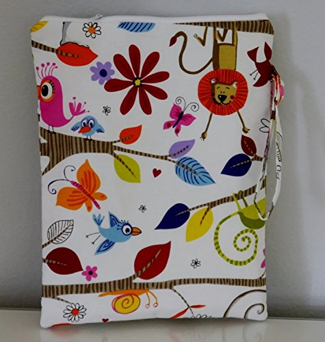 Floral Waterproof Bag for Diapers and Swimsuits by Emmi & Eli Baby Boutique