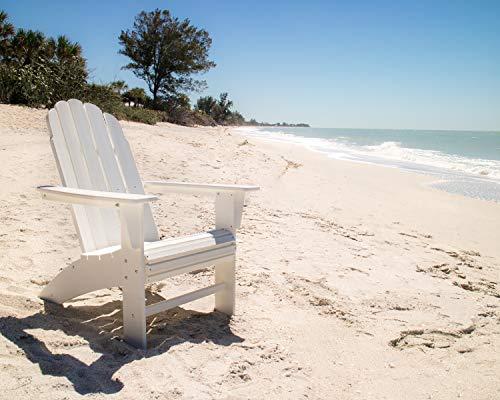 POLYWOOD Vineyard Curveback Adirondack Chair (Sand)