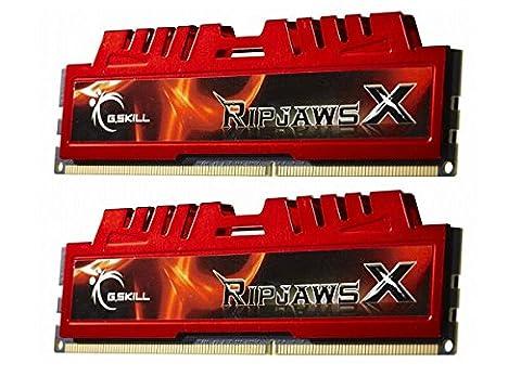 G.Skill RipjawsX F3-14900CL9D-8GBXL 8GB (2 x 4GB) DDR3 1866MHz Desktop Memory Module - 439 Sheer