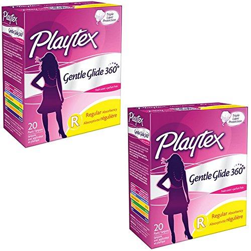 Playtex Gentle Glide Regular Absorbency product image
