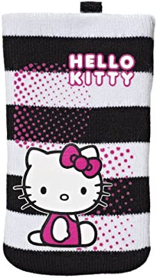Hello Kitty Striped Cleaning - Calcetín universal para smartphone ...