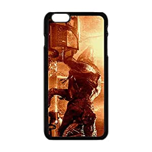 Jurassic Park Dinosaurs on The Road Black Phone Case for iPhone 6 Plus