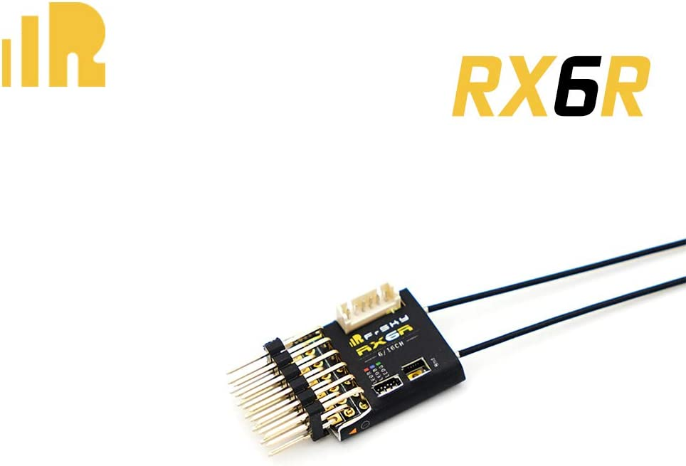 FrSky RX6R Receiver 6/16 Channels Redundancy Function -with pin