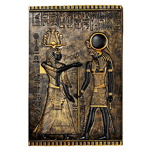 TM Miracle Store Home Living Room Decoration Wall Sculpture Ancient Egypt God Horus ()
