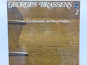 Georges Brassens 2 Les Amoureux Des Bancs Publics 33 Tours Vinyle