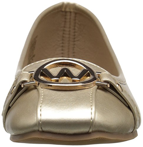Ballet Gold Shoes Flat Shoes Womens Wanted Michelle Wanted Womens wAnFqxOR