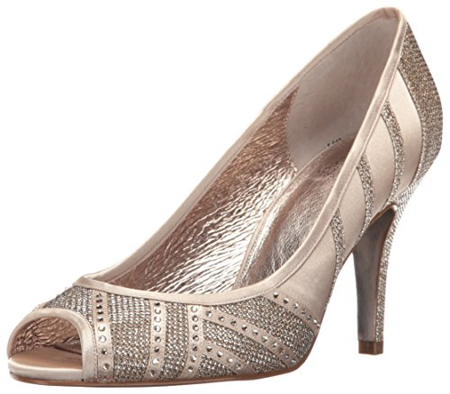 Adrianna Papell Womens Flair Dress Pump Platino