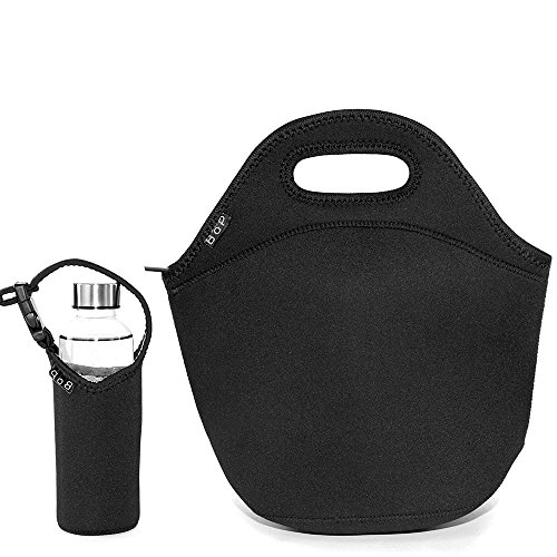 BOP Lunch Bags Insulated Neoprene Bag, X Large, - Washington Outlets Hours
