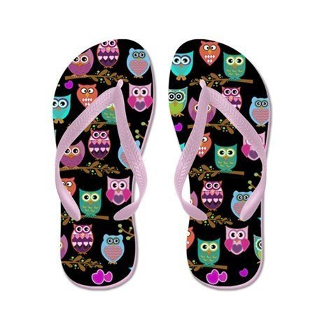 Lplpol Flip Flops for Kids Adult Beach Sandals Pool Shoes Party Slippers Black Pink Blue Belt for Chosen