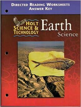 holt earth science directed reading worksheets answer key. Black Bedroom Furniture Sets. Home Design Ideas