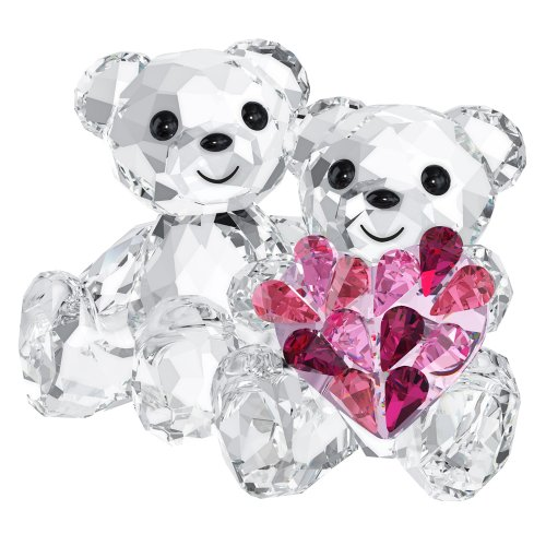Swarovski Kris Bear Figurine, In Love -