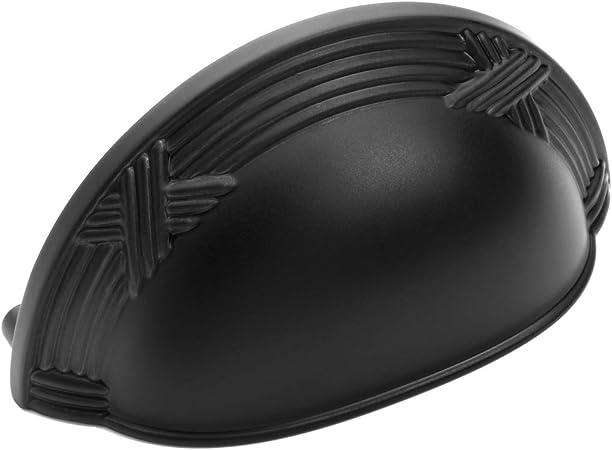 10 Pack Dynasty Hardware Super Saver P-5322-FB Shaker Style Cabinet Pull Flat Black