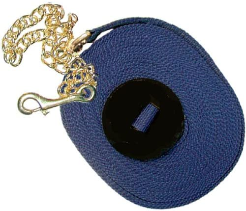 Intrepid International Poly Lunge Line with Chain and Rubber Stopper