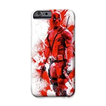 """iPhone 6 Plus/6s Plus (5.5"""") Deadpool Fan Art Silicone Phone Case / Gel Cover for Apple iPhone 6S Plus 6 Plus (5.5"""") / Screen Protector & Cloth / iCHOOSE / Red"""