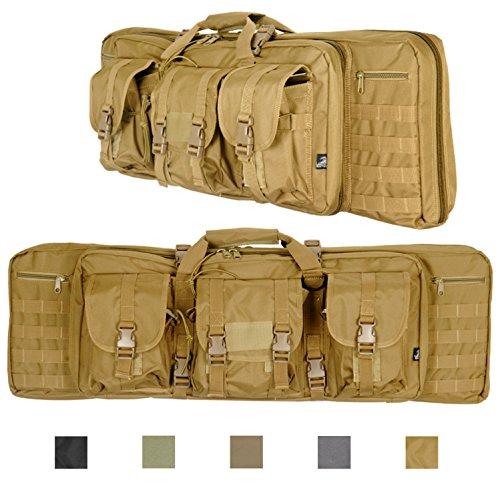 Lancer Tactical 600 Denier Polyester Double Carbine Soft Cas