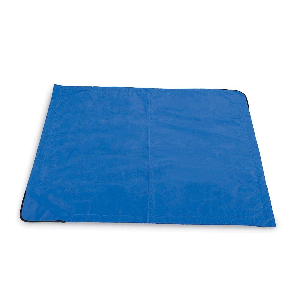 Borsa da Picnic Apribile 2 in 1 Colore Blu si Trasforma in