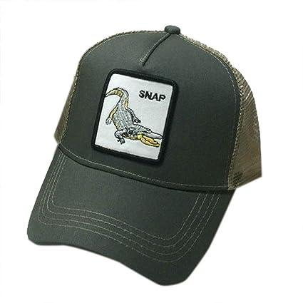 JUNGEN Sombrero y Gorra para Hombre Mujer Gorra de Beisbol Bordada de Animales con Patrón de