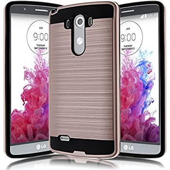 Amazon.com: DualTek Extreme Shock Case for LG G3 - Matte ...