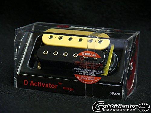 DiMarzio DP220 D Activator Bridge (ノーマルスペース, Black/Cream) B0064REPIQ ノーマルスペース Black/Cream Black/Cream ノーマルスペース