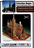 Aue Verlag 42 x 30 x 45 cm St. Stephen's Cathedral in Vienna Model Kit