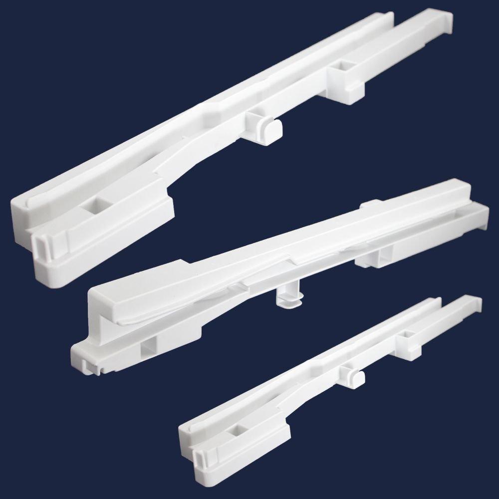 Frigidaire 218015601 Refrigerator Crisper Drawer Shelf Frame Support Genuine Original Equipment Manufacturer (OEM) Part