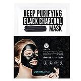 Dermal Korea Deep Purifying Black Charcoal Mask 25g Pack of 5