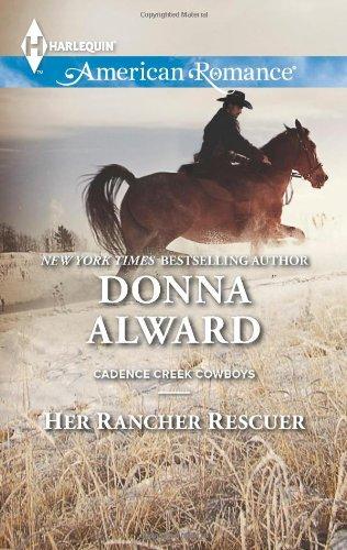 book cover of Her Rancher Rescuer