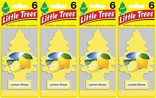 Little Trees Lemon Grove Air Freshener, (Pack of 24) from Little Trees