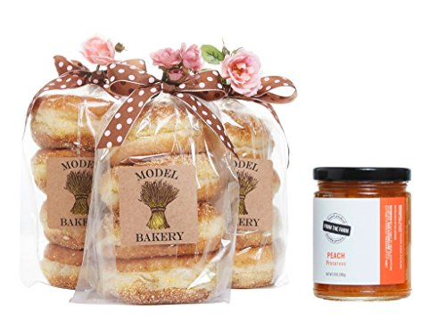 The Model Bakery English muffins and preserve set - Peach