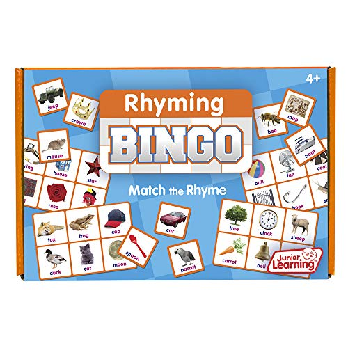 Junior Learning Rhyming Bingo Educational Action Games