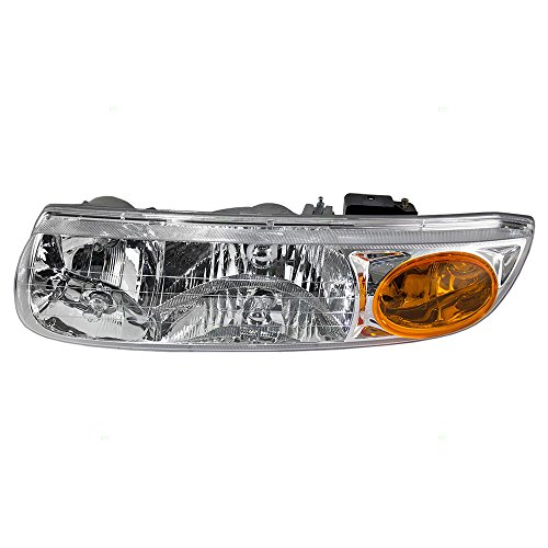 Drivers Headlight Headlamp Replacement for Saturn 21112455 - Sl2 Headlight Saturn Replacement