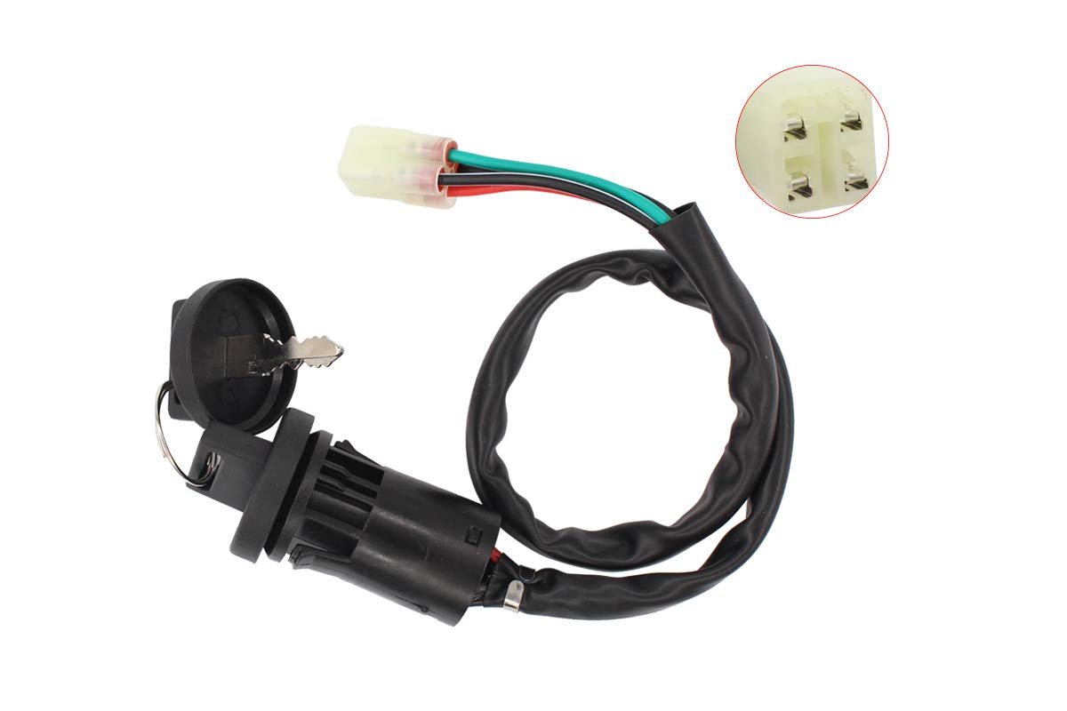 Ignition Switch w//Keys for Honda Sportrax 450 TRX450R 2x4 TRX450ER Electric Start TRX450R Kick Start