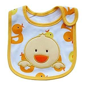 Baby Bibs Saliva Waterproof Cartoon Pattern Toddler Lunch