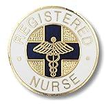Prestige Medical Emblem Pin, Registered Nurse