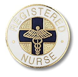 Prestige Medical Emblem Pin, Registered Nurse