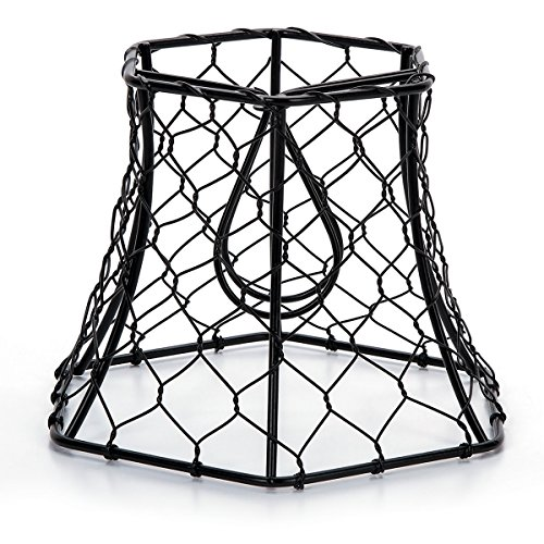 Metal Chickenwire Hexagon Lampshade - Metal Shades