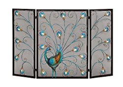 Deco 79 Metal Fireplace Screen 48 by 32-Inch from Deco Seventy-Nine