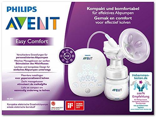 Philips AVENT scf301/02 eléctrica compacta de leche Bomba ...