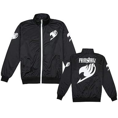 Haililais Fairy Tail Chaquetas Estampados para Mujeres y Hombres Sudaderas Deportivo Abrigo con Cremallera Ocasionales Hipster Jacket Coat: Amazon.es: Ropa ...