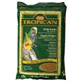 Tropican Lifetime Maintenance Food Granules for Cockatiels Size: 4.4 Pounds, My Pet Supplies