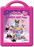 Minnie Minnie's Fashion and Fun: Book and Magnetic Playset
