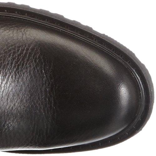 HIGH Botas De Vaquero BUCKLE mujer Negro de cuero SARANAC Sebago Negro w6xnAHEp7