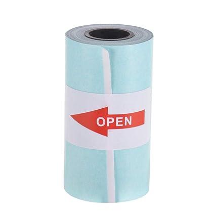 Entweg Rollo de pegatinas, 5730 mm, papel térmico impreso ...