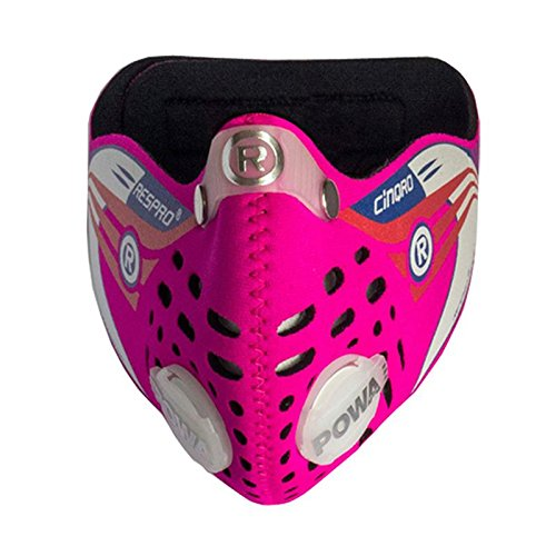 Respro-Cinqro-Anti-Pollution-Mask-Pink-Medium