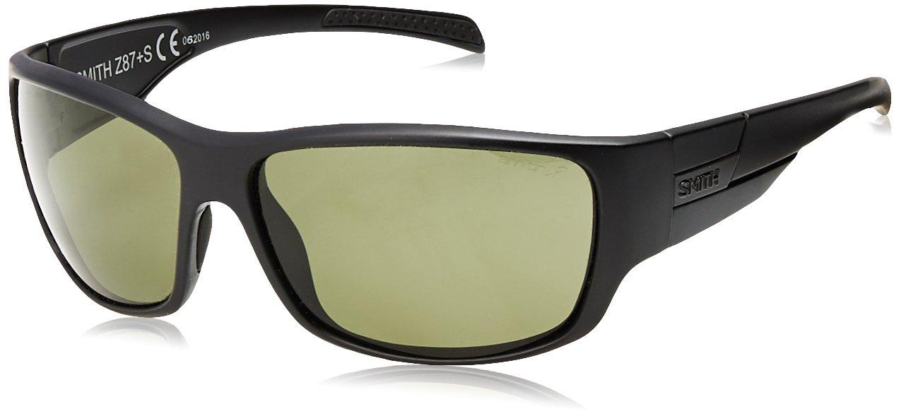 59e3e3d4d21c Galleon - Smith Optics Elite FRONTMAN Elite Frontman Sunglass With Black  Frame And Chromapop Polar Gray Green Lenses, One Size, Black/Gray Green